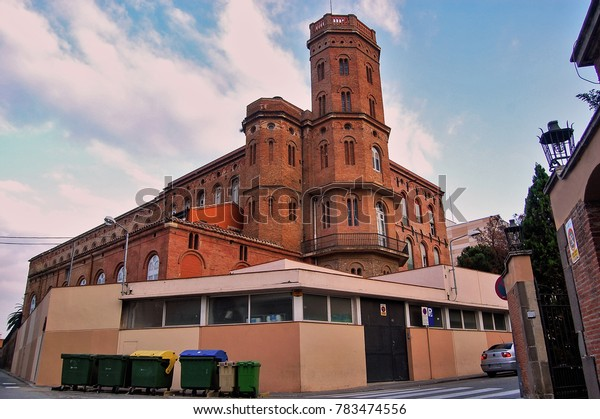 Old factory in Terrassa city at Barcelona province - Catalonia / Spain