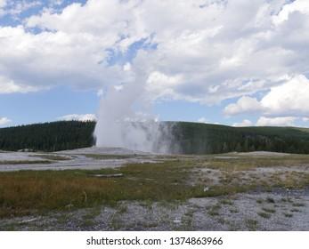 Geyser Eruption Images Stock Photos Vectors Shutterstock