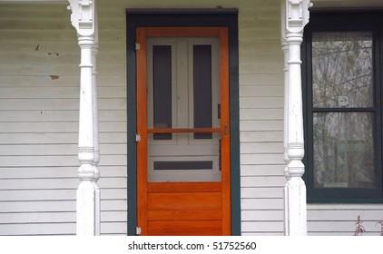 Old Farmhouse Door