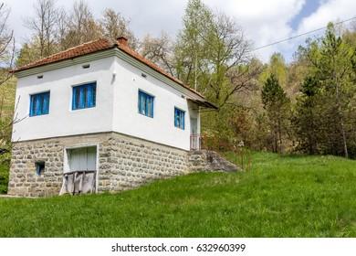 Old farmhouse, ethno-tourism, Serbia.