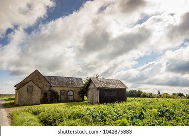 An old farmhouse in Loire Valley, France