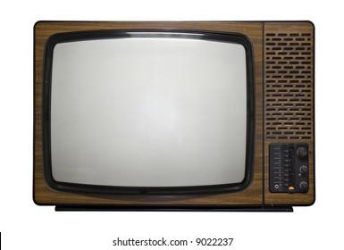 Old fashion retro tv