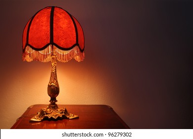 old fashion table lamp
