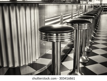 old fashioned bar stools