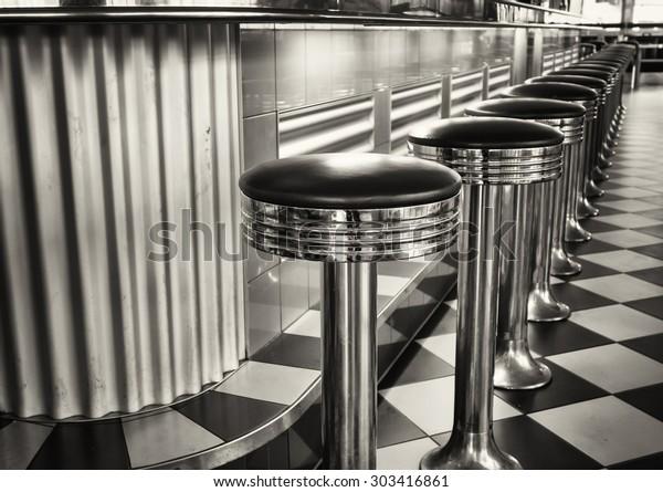 old fashioned bar stools