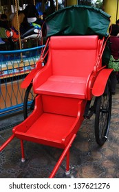 Old fashioned Chinese rickshaw