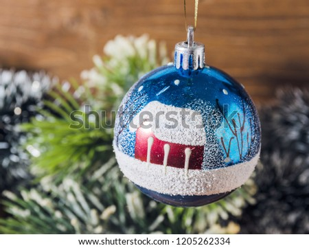 Old Fashioned Christmas Tree Decorations Stock Photo Edit Now
