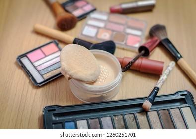 Old fashioned cosmetics.
