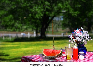 Old Fashioned Fourth of July Picnic