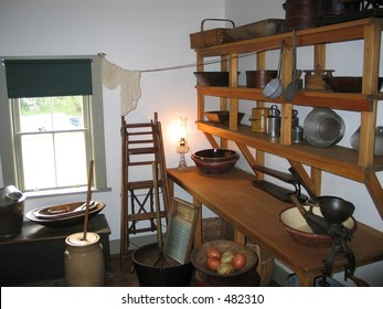 Old fashioned kitchen - Green Gables