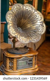 Old fashioned phonograph