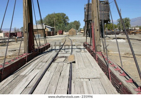 Old Fashioned Railroad Turntable Stock Photo (Edit Now) 235996
