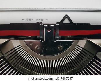 Old Fashioned Typewriter