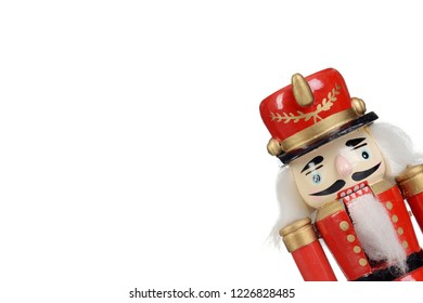 old fashioned wooden nutcracker