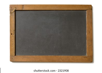 Old fashioned writing slate, as used by school children