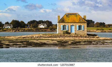old fisher house - Saint Cado island