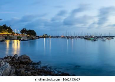 Old Fisherman's Wharf of Monterey Bay