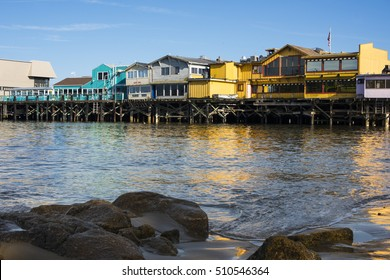 Old Fishermans Wharf in Monterey California