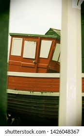 Old fishing boat galley with a vintage feel