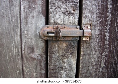 old fitting lock