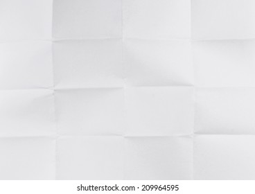Old folded paper texture.