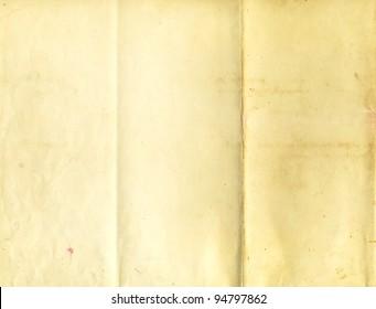 Old folder paper texture for background