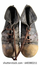 Old football shoes
