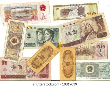 Old foreign currency from around the world -China