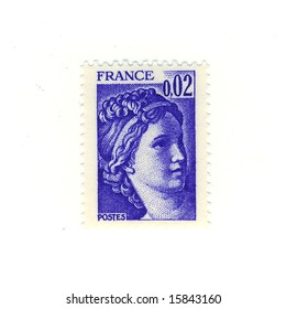 old foreign stamp