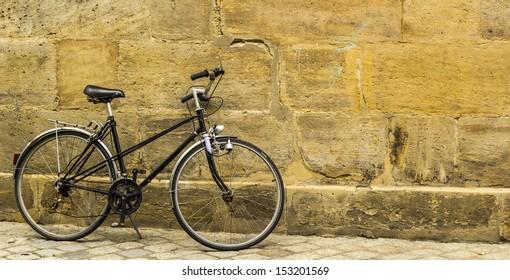 Old forgotten bike