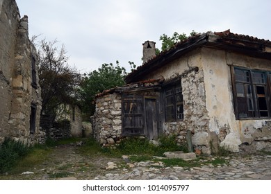 An old forgotten house. Stratonikeia . Turkey