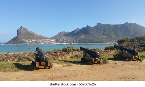 Old Fort and cannons, Hout Bay near Cape Town, Western Cape, South Africa