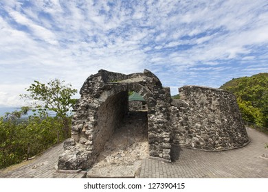 The old fort on the outskirts of Gorontalo - Sulawesi, Indonesia