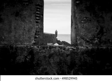 Old Fort San Felipe del Moro in Old San Juan Puerto Rico