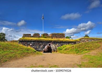 Old fort Suomenlinna - Sveaborg, Helsinki, Finland - UNESCO World Heritage Site