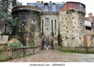 Old fortification in Rennes, France.