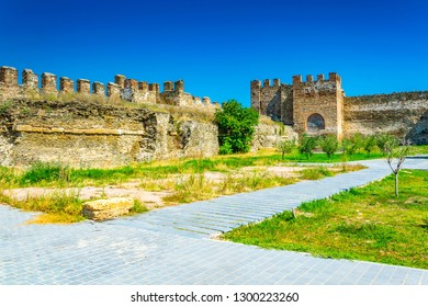 Old fortification of Thessaloniki, Greece