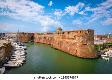 Old fortress of Livorno, Tuscany, Italy