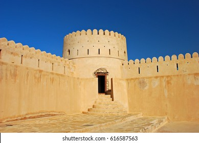 Old fortress in Sur. Sultanate of Oman. Arabian Peninsula