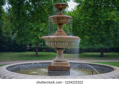 Old fountain in the park