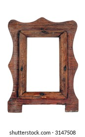 old frame from a natural tree, handwork