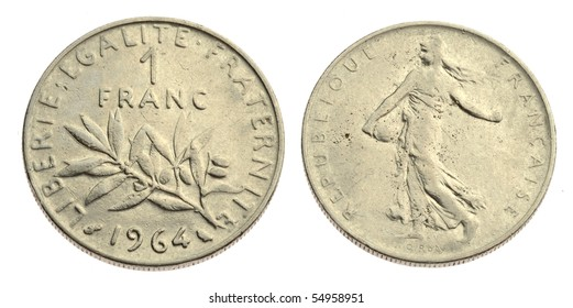 Similar Images, Stock Photos & Vectors of Old France Coin