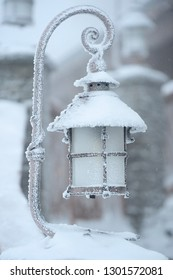 Old Frozen lamp