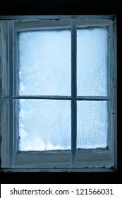 Old Frozen window