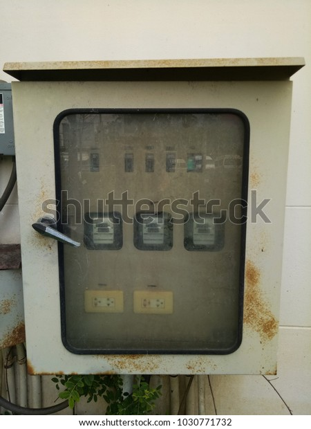 Old Fuse Box Factoryelectrical P Stock Photo (Edit Now ... Old Fuse Box Help on