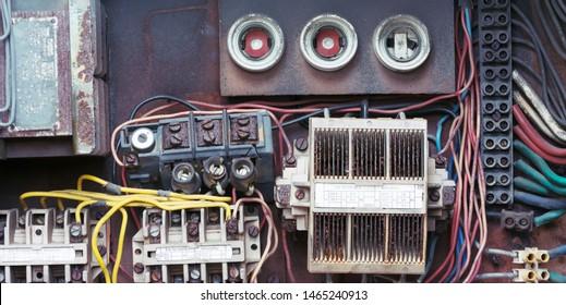 Imágenes, fotos de stock y vectores sobre Old Fuse Box ... on vintage fuse panel, vintage automotive fuse box, vintage electric fuse box, vintage safety deposit box, vintage home fuse box,