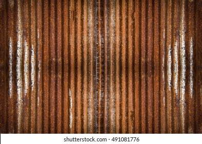 Old galvanized iron texture background