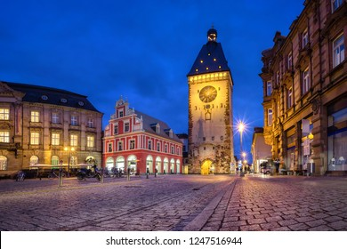 Old Gate (Altpoertel) - medieval west city gate of Speyer, Germany. One of the largest (55 metres high) and most architecturally significant of the remaining city gates in Germany