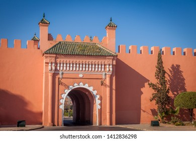 Old gate in Marrakesh. Marrakesh, Marrakesh-Safi, Morocco.