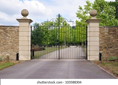 Old Gateway and Drive of a Country Estate